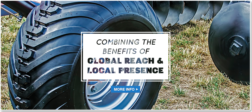 Combining the benefits of global reach & local presence